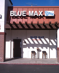 The front of the Blue Max