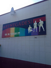 The Banner on Renegades bar